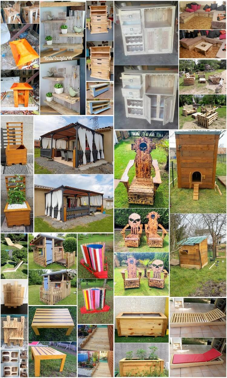 What to do with Recycled Pallets - 25 Creative Ideas