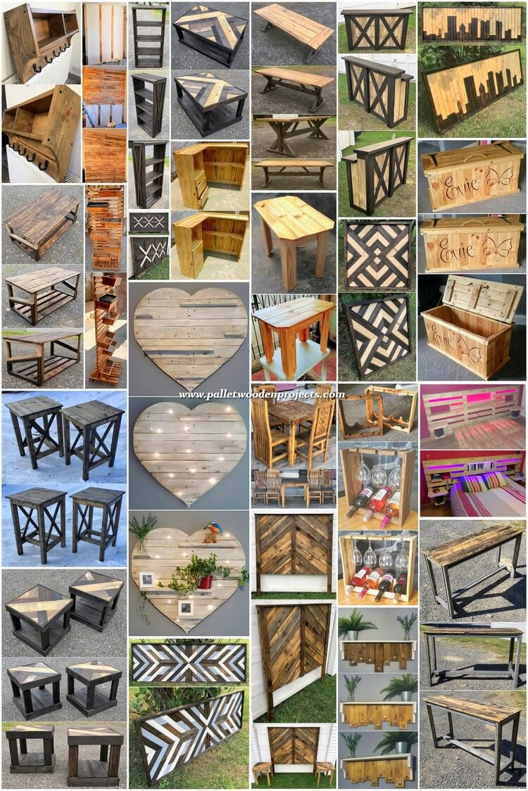 Most Beautiful DIY Wood Pallet Projects