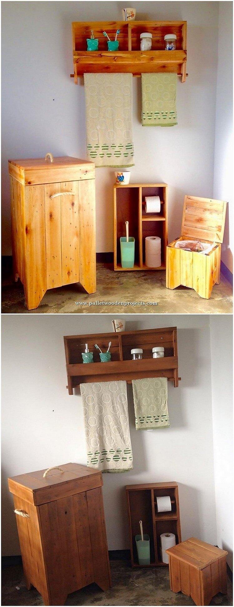 Pallet Bathroom Creations