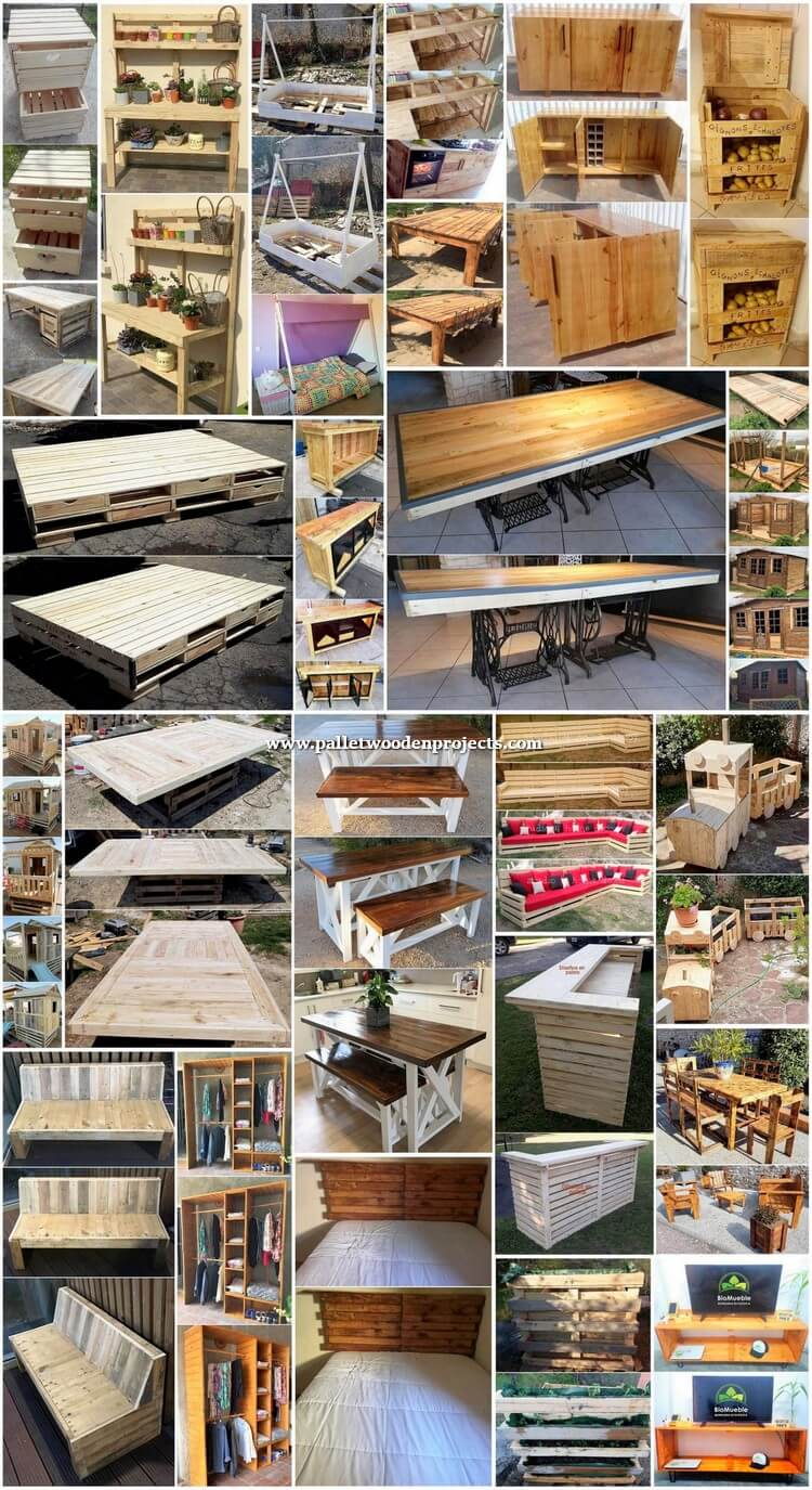 Distinctive DIY Recycled Pallet Wood Projects