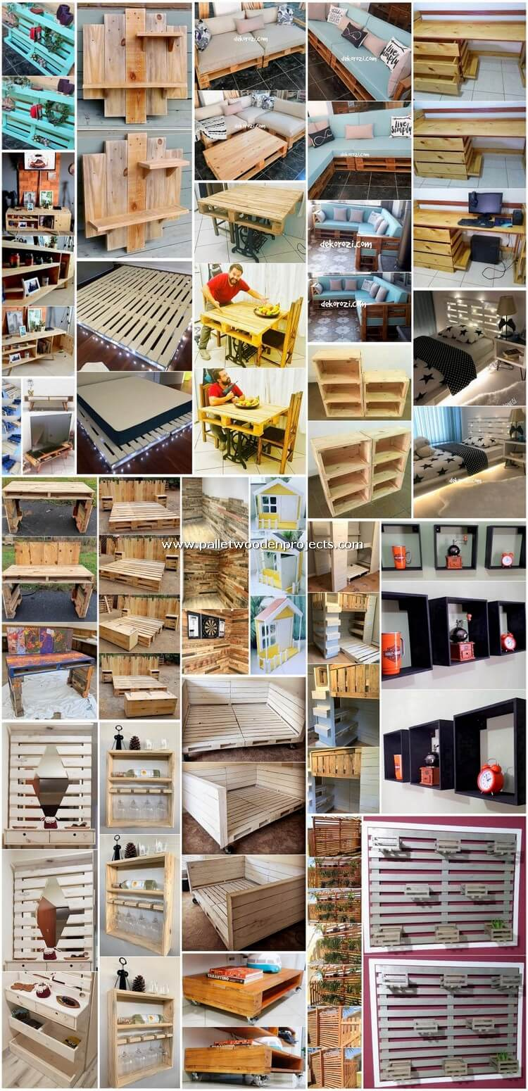Incredible Do It Yourself Pallet Projects and Plans