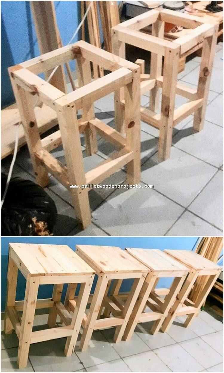 DIY Pallet Side Tables