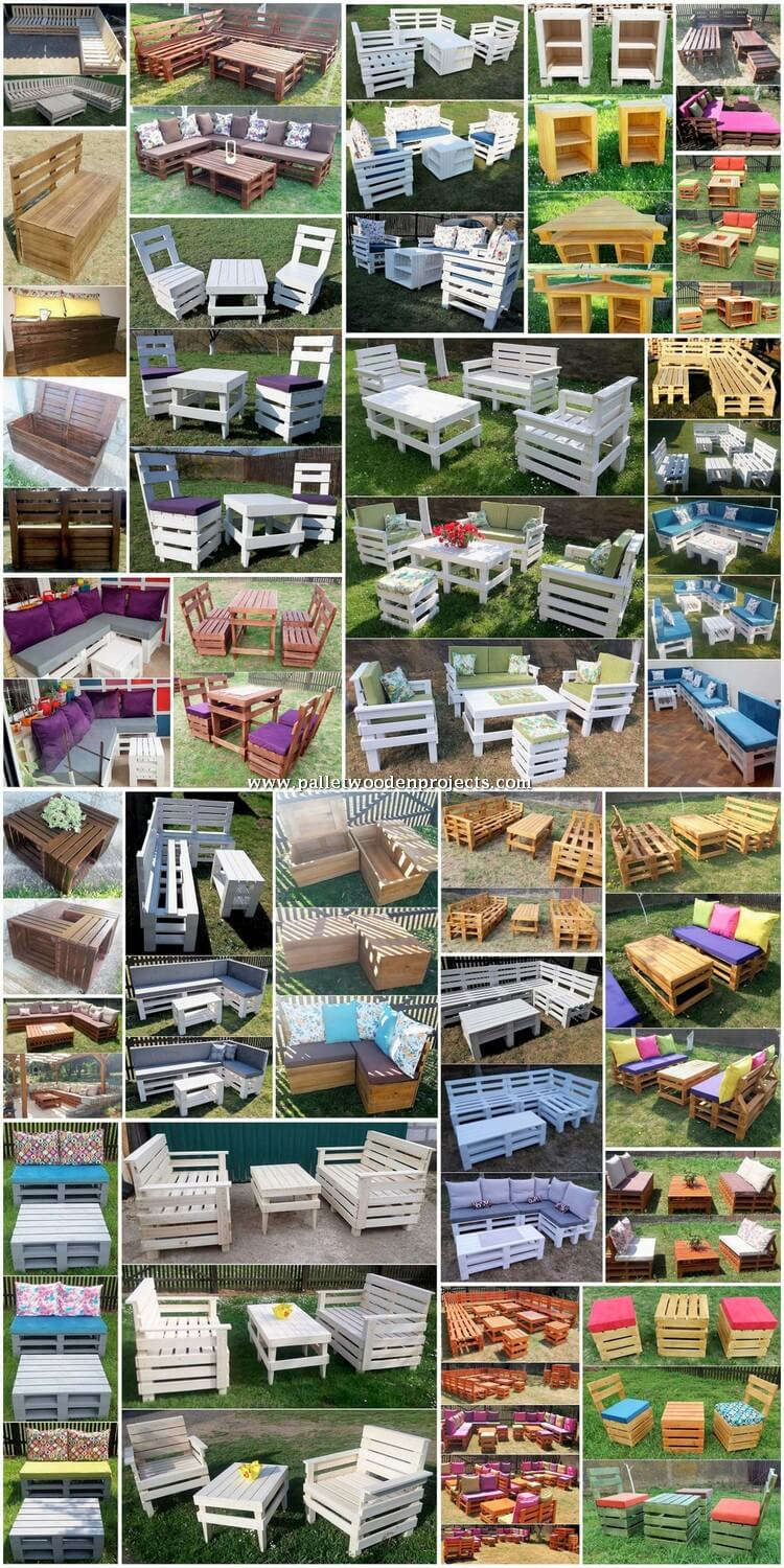 Enchanting DIY Projects with Old Wooden Pallets