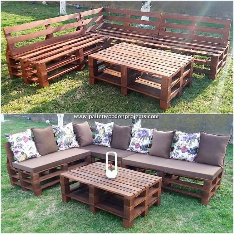 Pallet Couch and Table Project