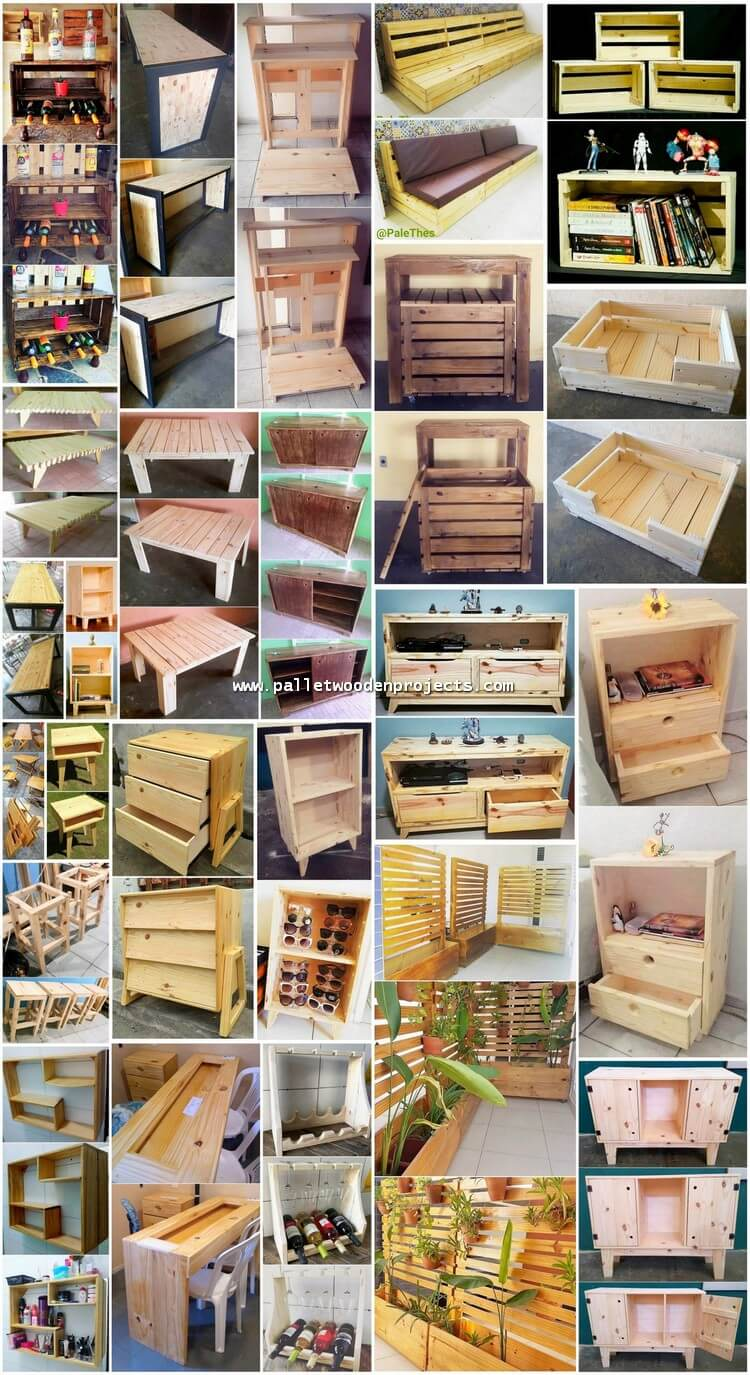 Valuable DIY Projects with Old Pallets Wood