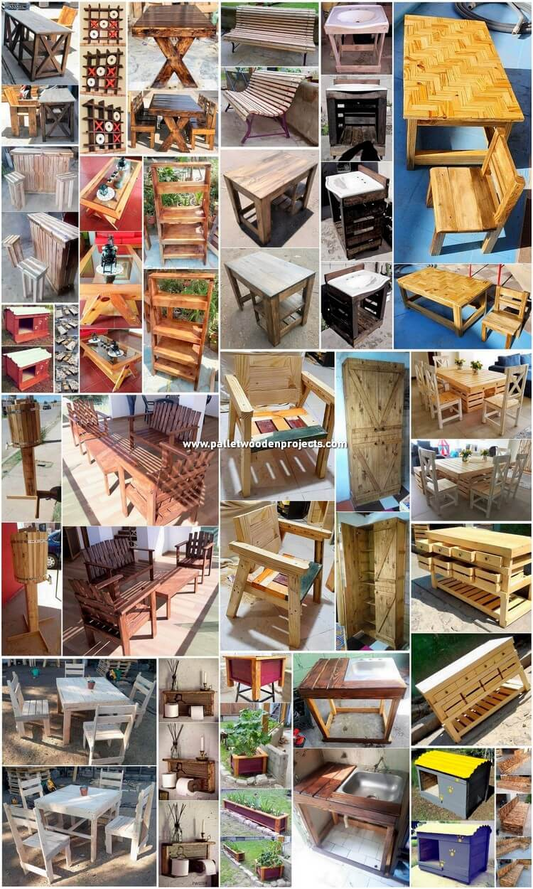 Creative Shipping Pallet Creations for Your House