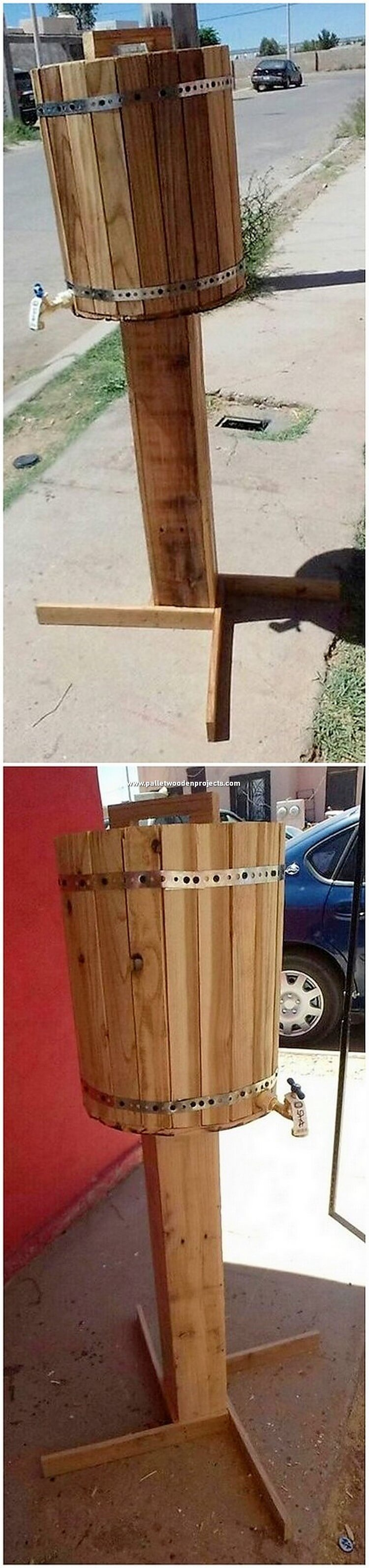 Pallet Cooler with Stand