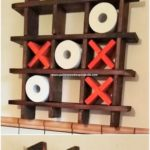 Pallet Toilet Paper Roll Rack