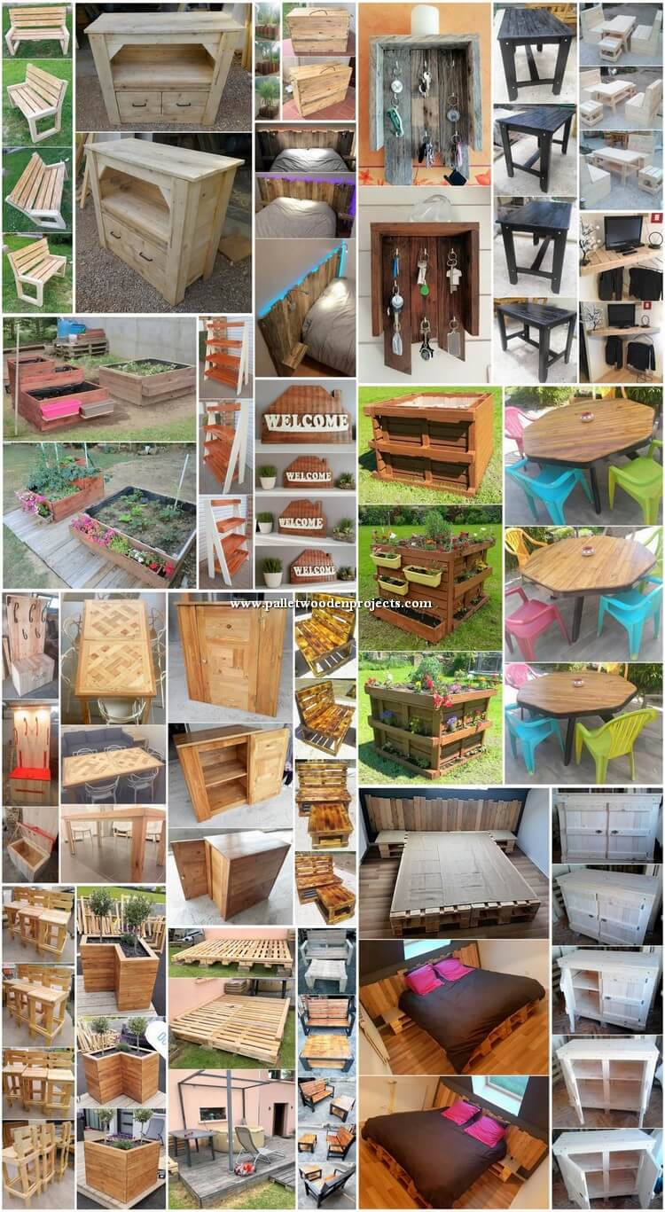 Special Wood Shipping Pallet DIY Projects