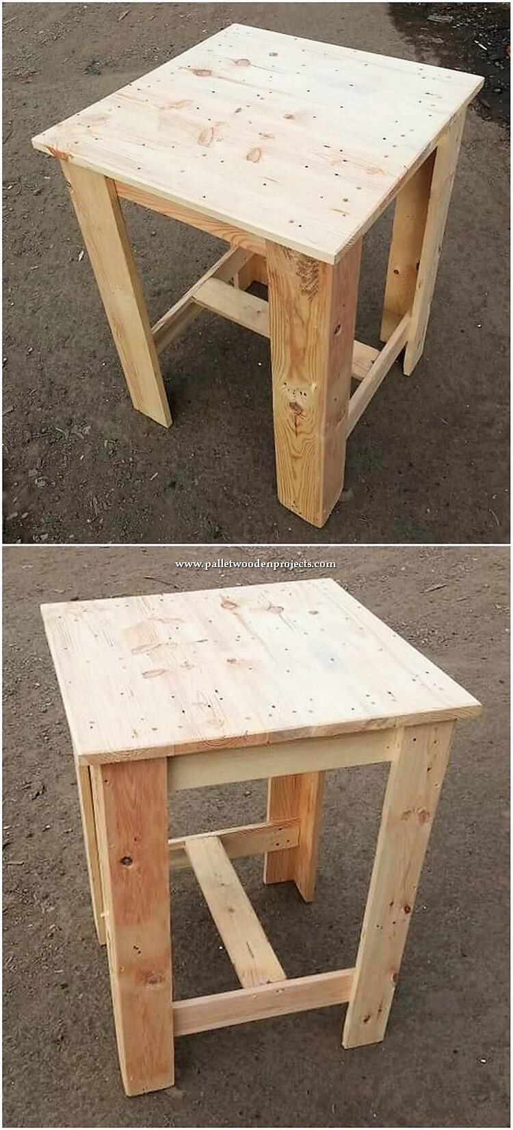 Pallet Stool or Side Table